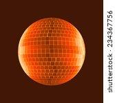 disco ball  shades of mars   Shutterstock . vector #234367756