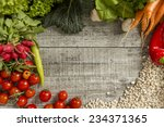 fresh food on the table | Shutterstock . vector #234371365