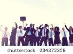 business people new york... | Shutterstock . vector #234372358