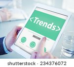 new trends future bussiness... | Shutterstock . vector #234376072