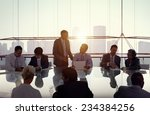 Small photo of Business People in a Meeting and Working Together