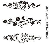 ornamental frieze designs with... | Shutterstock .eps vector #23440384