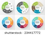 vector circle arrows for... | Shutterstock .eps vector #234417772