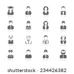 people icons | Shutterstock .eps vector #234426382