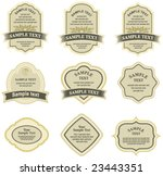 set of design elements | Shutterstock .eps vector #23443351