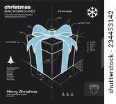 gift box design vector... | Shutterstock .eps vector #234453142