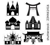 Black Icon Show Each Religious...
