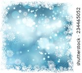 christmas background with... | Shutterstock .eps vector #234465052