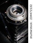 a retro camera lens close up | Shutterstock . vector #234472132