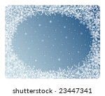 blue abstract frame with... | Shutterstock . vector #23447341