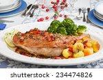 Christmas Dish Roasted Turkey...