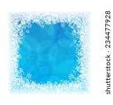 abstract blue background in... | Shutterstock .eps vector #234477928