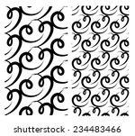 2 abstract seamless patterns... | Shutterstock .eps vector #234483466