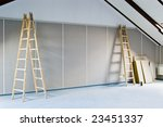 renovation interior with two... | Shutterstock . vector #23451337