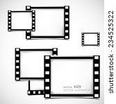 films frame abstract... | Shutterstock .eps vector #234525322