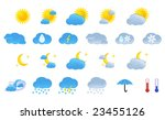 weather icons | Shutterstock .eps vector #23455126