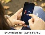 energy concept  female hands... | Shutterstock . vector #234554752