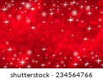 abstract christmas background... | Shutterstock . vector #234564766