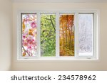 window in home interior with... | Shutterstock . vector #234578962