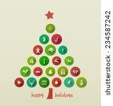 Holiday Card  Christmas Tree...