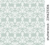 oriental  pattern with damask ... | Shutterstock . vector #234625306