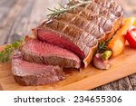 roast beef | Shutterstock . vector #234655306