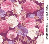 seamless floral pattern with... | Shutterstock . vector #234657052
