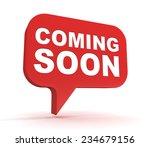 coming soon | Shutterstock . vector #234679156