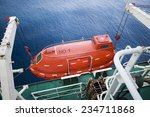 Lifeboat In Offshore  Rescue...