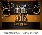 2015 new year and happy... | Shutterstock .eps vector #234711892