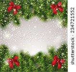 christmas greiting card | Shutterstock .eps vector #234721552