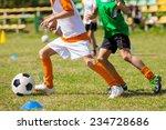 football soccer match for... | Shutterstock . vector #234728686