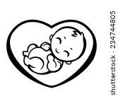 allegorical symbol of... | Shutterstock .eps vector #234744805