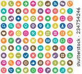 100 ui icons for web and mobile ...