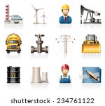 industry and energy icons | Shutterstock .eps vector #234761122