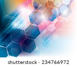 abstract background of... | Shutterstock .eps vector #234766972