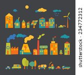 ecology set | Shutterstock .eps vector #234772312