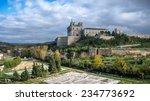 monastery at ucles  castilla la ... | Shutterstock . vector #234773692