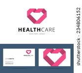 health care vector logo and... | Shutterstock .eps vector #234806152