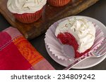 Beetroot Velvet Cupcakes With...