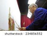 luannan county  october 3 ... | Shutterstock . vector #234856552