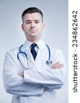 self confident reassuring...   Shutterstock . vector #234862642