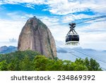 The Sugarloaf Mountain In Rio...