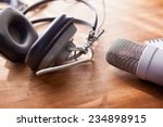 recording vocals. an large...   Shutterstock . vector #234898915