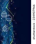 christmas background. eps10. | Shutterstock .eps vector #234907966