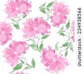 beautiful watercolor seamless... | Shutterstock .eps vector #234938566