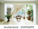 contemporary luxury mansion... | Shutterstock . vector #234956095