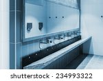 clean public washrooms interior ... | Shutterstock . vector #234993322