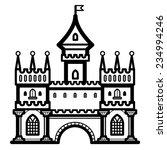 castle vintage   Shutterstock .eps vector #234994246