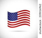 illustration of the flag of... | Shutterstock .eps vector #235016962
